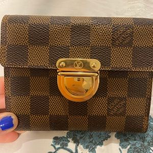 Louis Vuitton compact wallet (Joey Wallet)